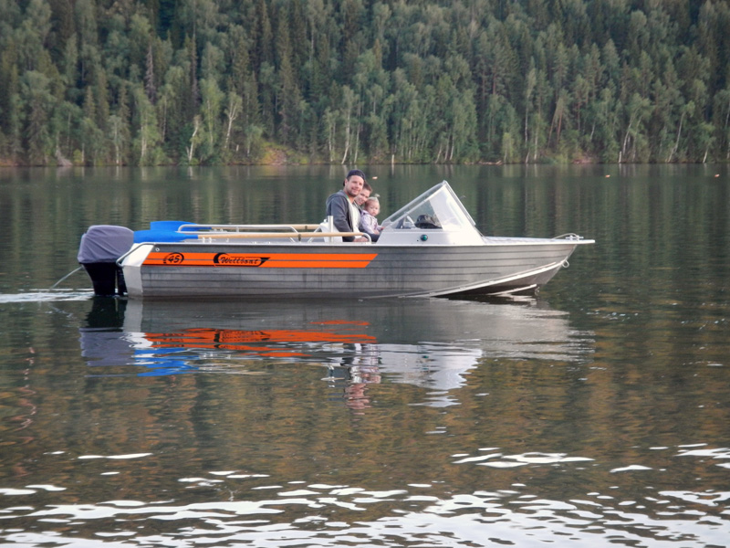 лодка вельбот 45 new